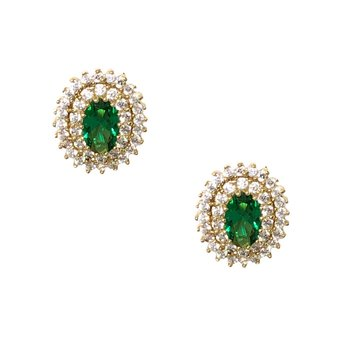 Earrings Set made of 14ct