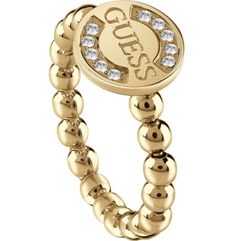 GUESS Ring Gold-plated with