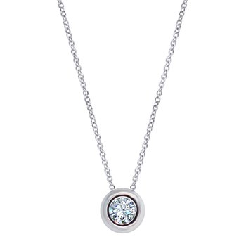 Necklace 18ct White Gold with