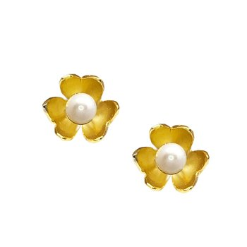 Earrings 14K Gold with Pearls