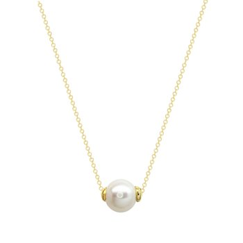 Necklace 9K Gold with Pearl