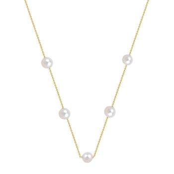 Necklace 14K Gold with Pearls