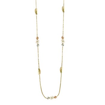 Necklace 14K Gold with Pearl