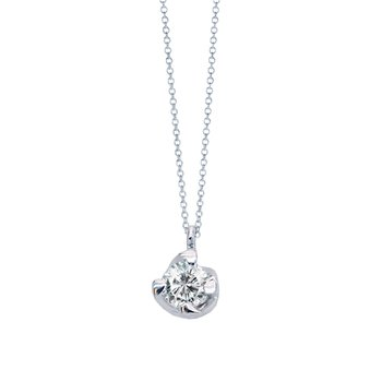 Necklace 18ct Whitegold with