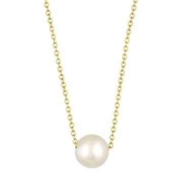 Pendant 14ct Gold with Pearls