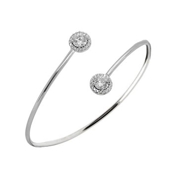 Bracelet 14ct White Gold with
