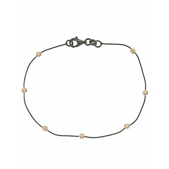 Bracelet 14ct black gold