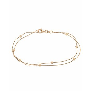 Bracelet 14ct rose gold