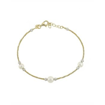 Bracelet 14ct gold with