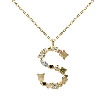 PDPAOLA I Am S Necklace Gold
