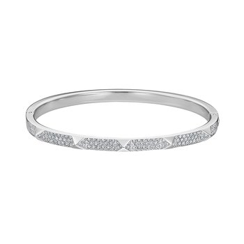 SWAROVSKI White Tactic Bangle
