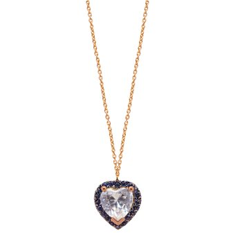 Necklace with Heart The Love