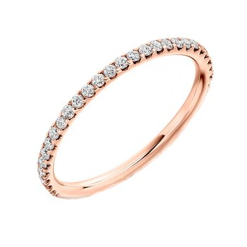 Ring 18K rose gold with