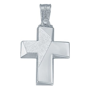 Cross 14ct White gold by