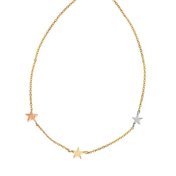 Necklace 14ct Gold FaCaDoro