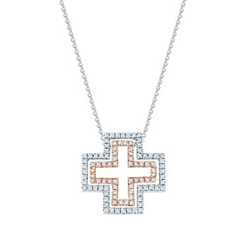 Cross 18ct White Gold and