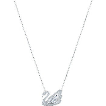 SWAROVSKI White Dancing Swan Necklace