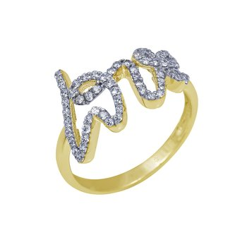 Ring Love The Love Collection 14K Gold SAVVIDIS