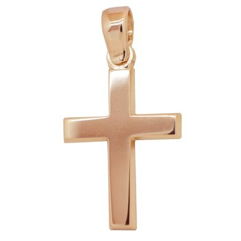 Cross 14K rose gold SAVVIDIS