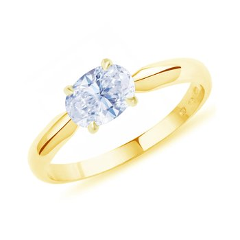 Ring Romance 14ct  Gold with