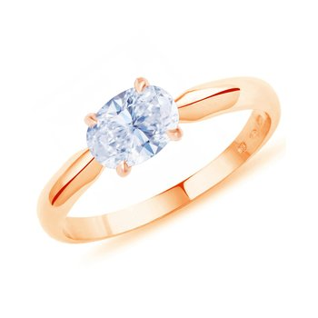 Ring Romance 14ct  Rose Gold