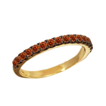 Ring 18ct Gold with Garnet