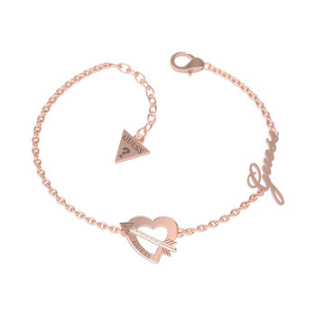 GUESS bracelet with heart,