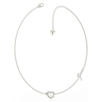 GUESS necklace with heart,