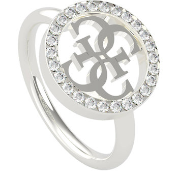 GUESS ring with design 4G and