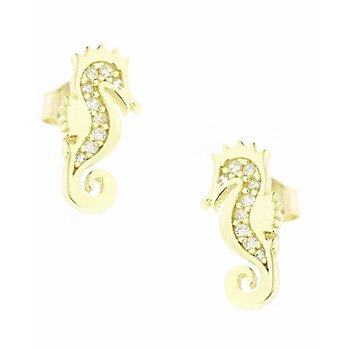 SAVVIDIS 9ct Gold Earrings