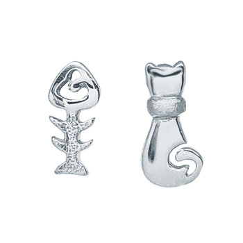 Earrings 14ct White Gold