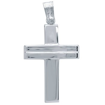 Cross 14ct White Gold SAVVIDIS