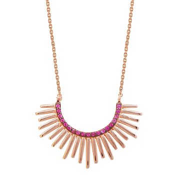 Necklace KIKI 925 Rose Gold