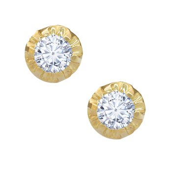Earrings 14ct gold with