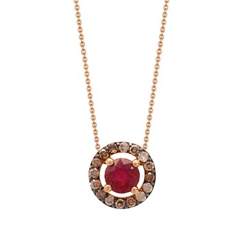 Necklace 18K Rose Gold with
