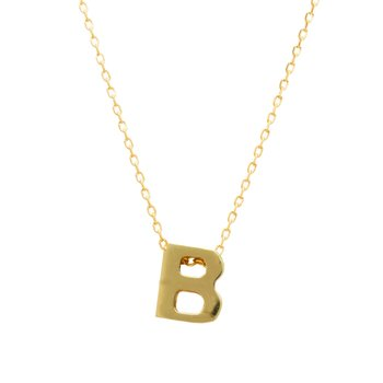 Necklace monogram Β Le Petit
