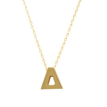 Necklace monogram Δ Le Petit