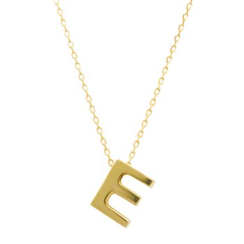 Necklace monogram Ε Le Petit