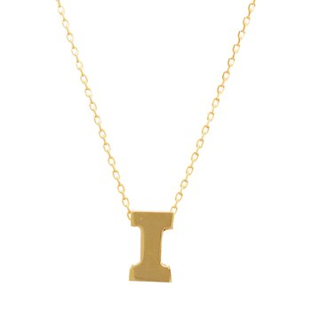 Necklace monogram Ι Le Petit