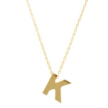 Necklace monogram Κ Le Petit