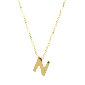 Necklace monogram Ν Le Petit