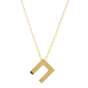 Necklace monogram Π Le Petit