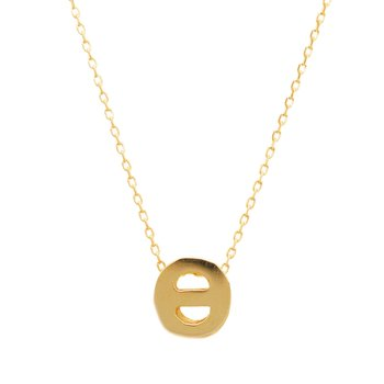 Necklace monogram Θ Le Petit