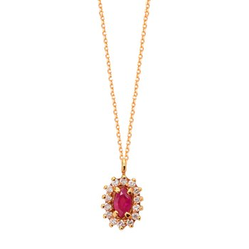 Necklace 18ct Rose Gold with