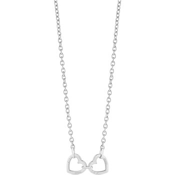 GUESS necklace with hearts