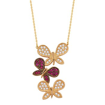 Necklace 14ct gold with