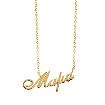 Necklace mother 9K gold