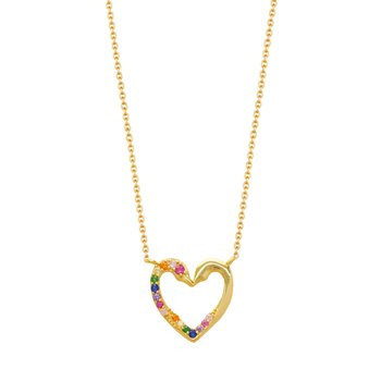 Necklace with Heart KIKI 925