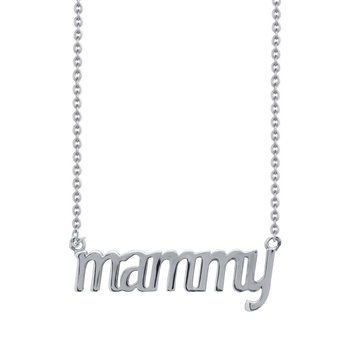 Necklace mammy 14ct white
