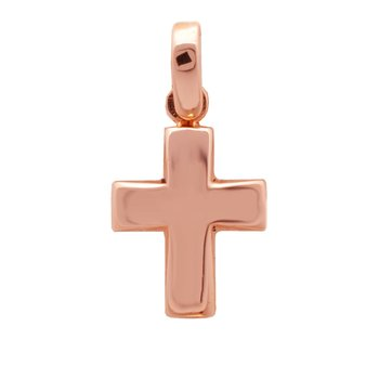 Cross 14ct rose gold SAVVIDIS